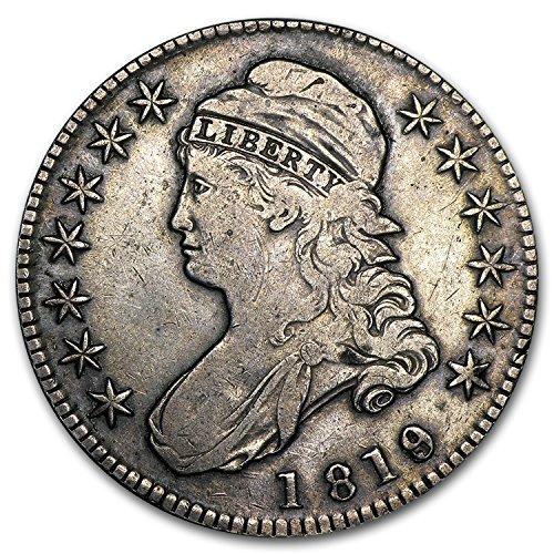 1819 Capped Bust Half Dollar VF Half Dollar Very Fine