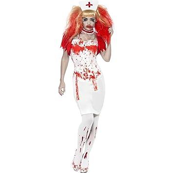 Traje de enfermera malvada disfraz Halloween zombie día ...