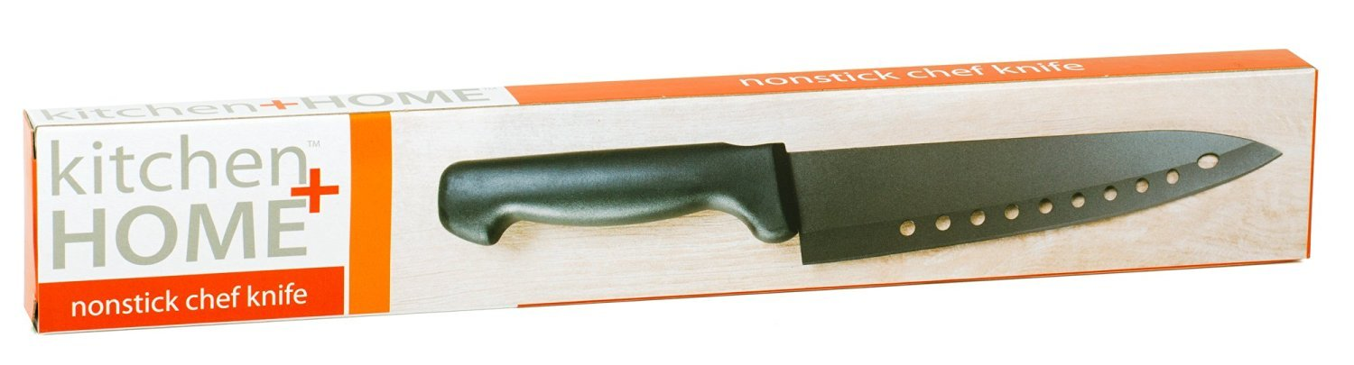 galleon kitchen home non stick sushi knife the original 8 inch stainless steel non stick. Black Bedroom Furniture Sets. Home Design Ideas