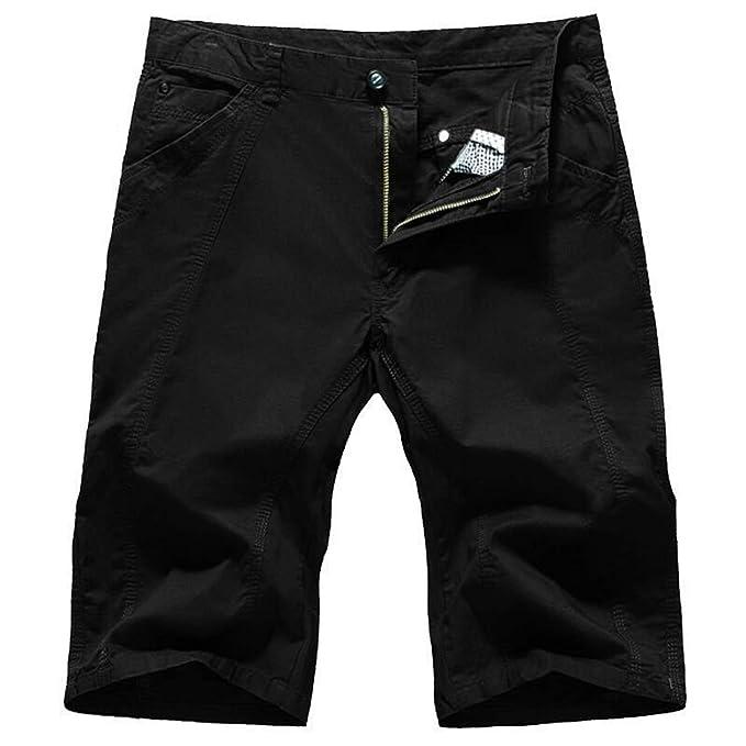 Pantalones Deportivos Sueltos con cordón, Cortos de algodón de ...