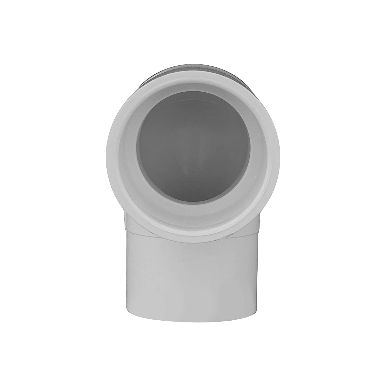 Charlotte Pipe 2 SCH 40//90 Degree Street Ell Spgxs PVC Pressure Single Unit