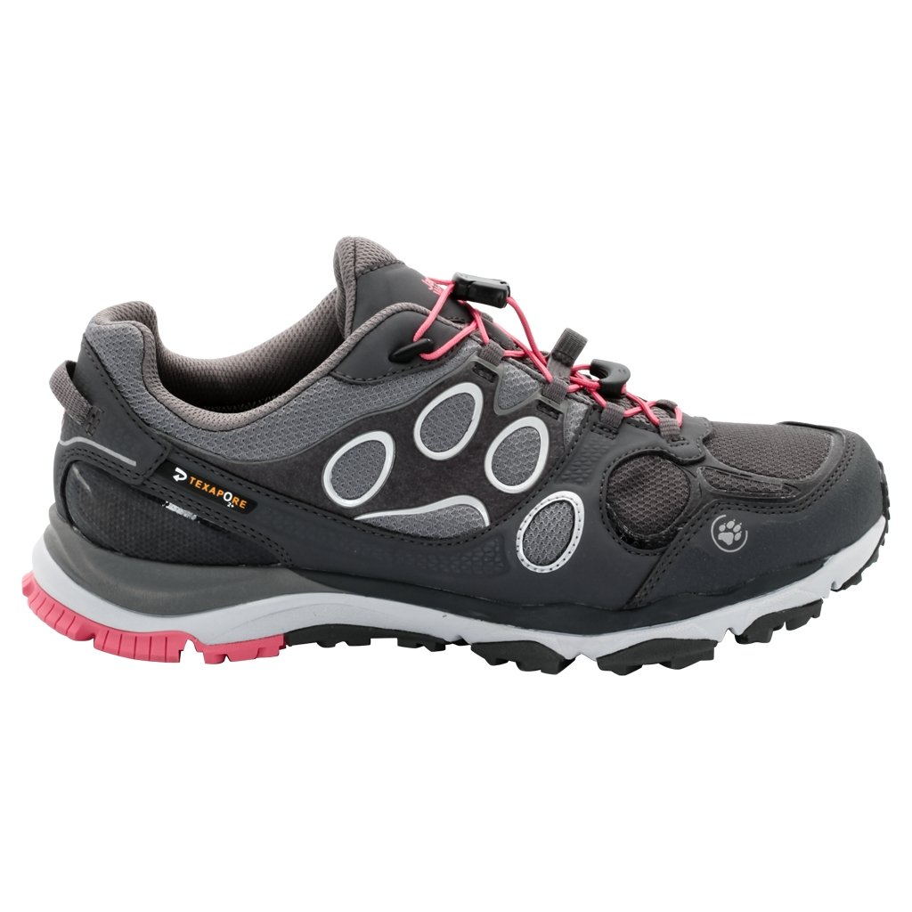 Jack Wolfskin Trail Excite Texapore Low Profile Trail Running / Senderismo Zapatos (Rosebud Grey, 5-US, 3-UK)