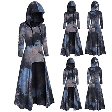 Disfraz De Cosplay De Halloween Tops De Blusa De Vestido Alto Y ...