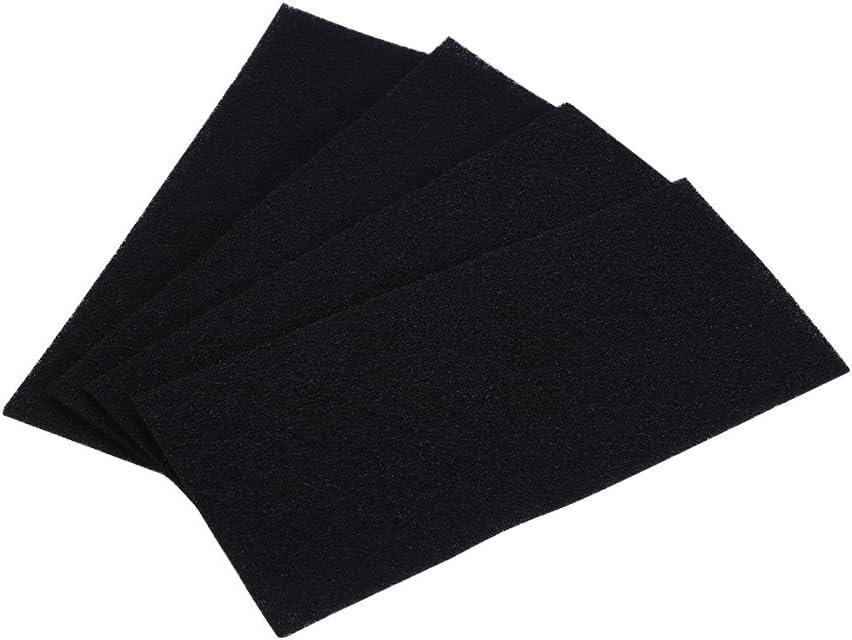Haofy 4 Piezas Filtros de Esponja de Carbón para Purificador de Aire