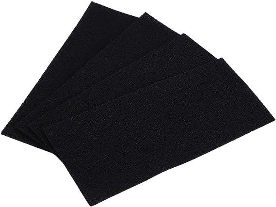 Haofy 4 Piezas Filtros de Esponja de Carbón para Purificador de ...