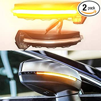 Amazon com: A Pair LED Dynamic Turn Signal Light Side Rear