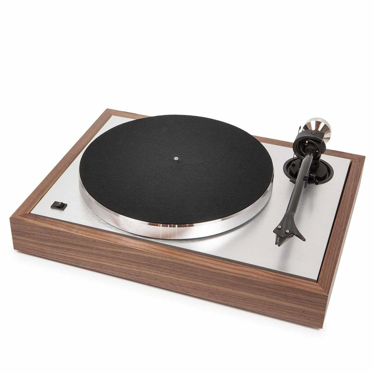 Pro-Ject The Classic Sub-Chassis Turntable with 9'' Carbon/Aluminum Sandwich Tonearm, Walnut by Pro-Ject