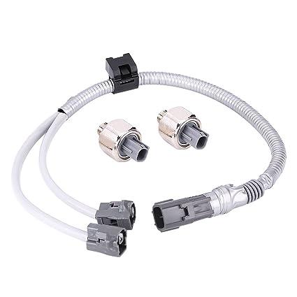 amazon com qiilu 2pcs knock sensors & wiring harness for knock sensor wiring schematic lexus knock sensor wiring harness #13
