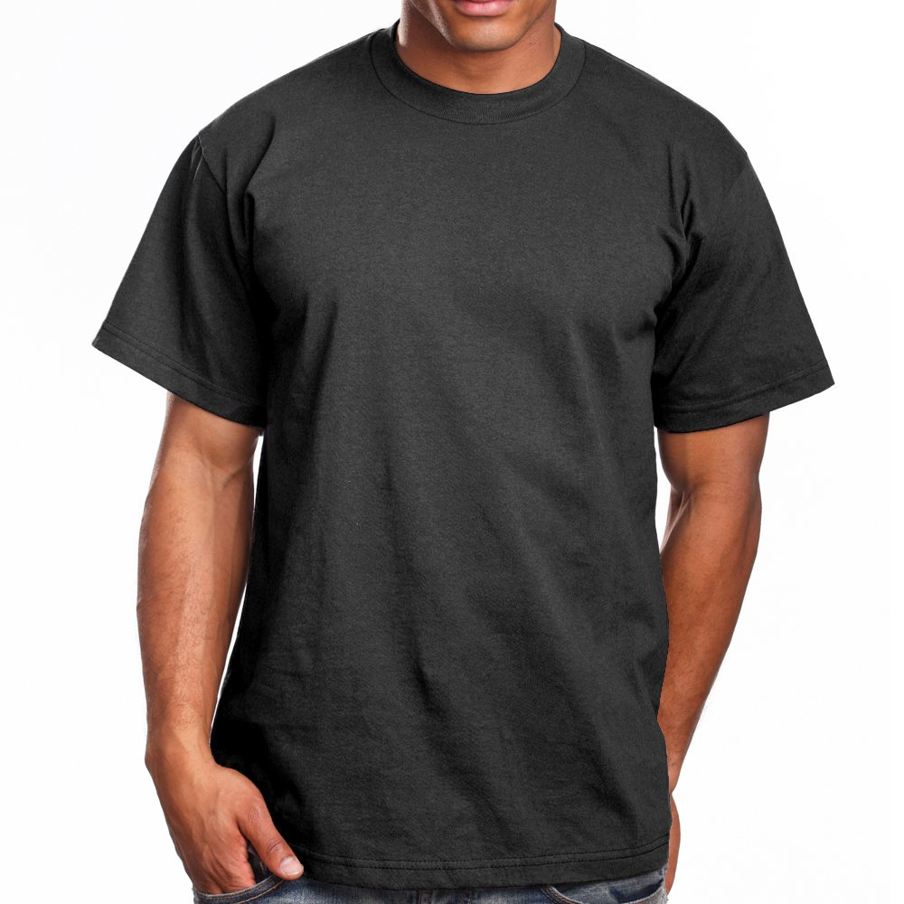 Super Heavy Mens T-Shirt, 3XL, Charcoal Grey