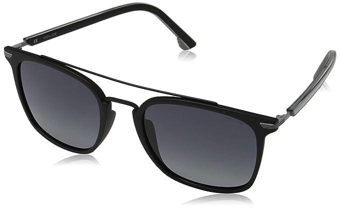 Police Drop 3 Gafas de Sol, Negro (Shiny Black/Grey), 54.0 ...