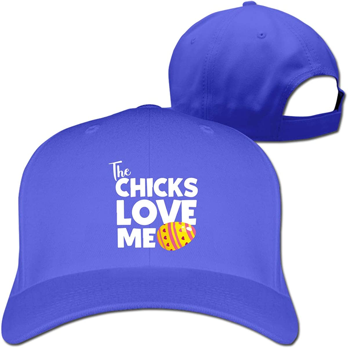 The Chicks Love Me Unisex Pure Color Baseball Cap Classic Adjustable Sun Hat