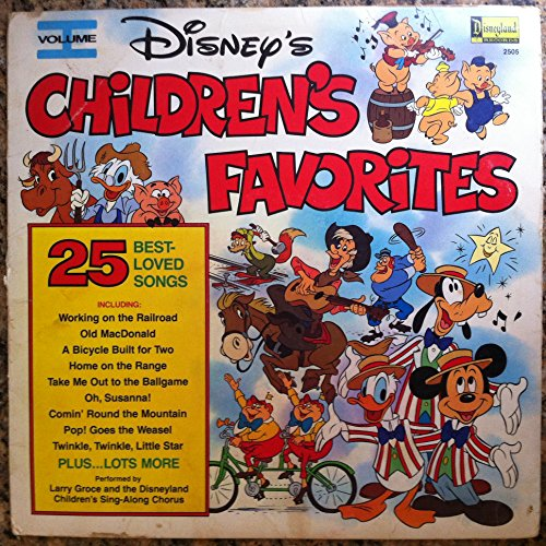 Disney's Children's Favorites, Vol.I [Vinyl LP (Childrens Record)