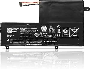 """Dentsing L14L3P21 11.1V 45Wh/4050mAh Laptop Battery Compatible with Lenovo Flex 3 Flex 4 14"""" 15"""" Ideapad Yoga 500 510 14"""" 15"""" Ideapad 300S 500S 510S 14"""" 310S 14"""" 15"""" Series Notebook L14M3P21 L14M2P21"""