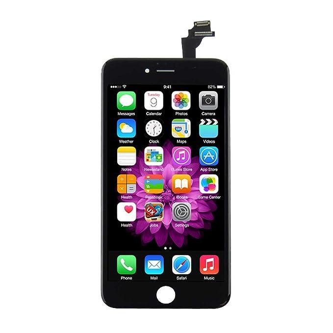 Amazon iphone 6s plus screen replacement black lcd premium iphone 6s plus screen replacement black lcd premium complete repair kit with tools easy manuals solutioingenieria Images