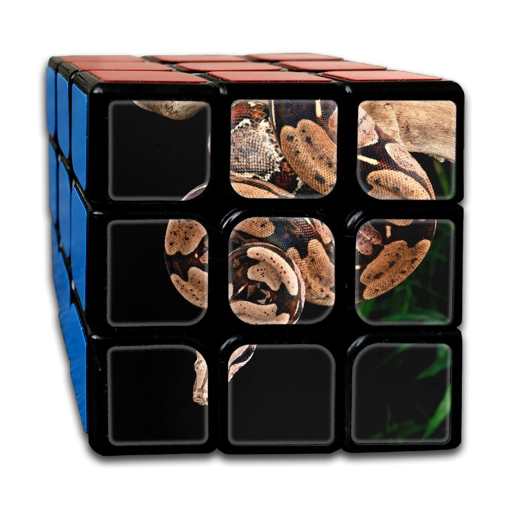 AVABAODAN Reptile Snake Rubik's Cube 3D Printed 3x3x3 Magic Square Puzzles Game Portable Toys-Anti Stress For Anti-anxiety Adults Kids