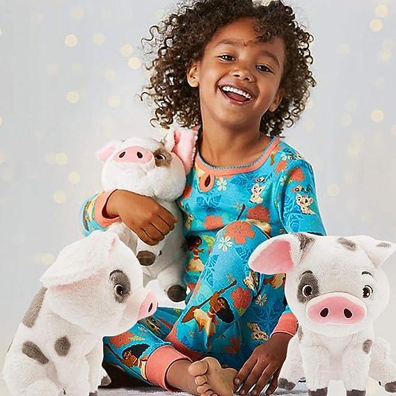 Xinjiashou Moana Pet Pig Pua De Peluche De Juguete 8,66Cerdo Mu/ñeca Linda Mu/ñeca De Juguete De Dibujos Animados Mu/ñeca De Tela Suave para Ni/ños Regalo De Cumplea/ños