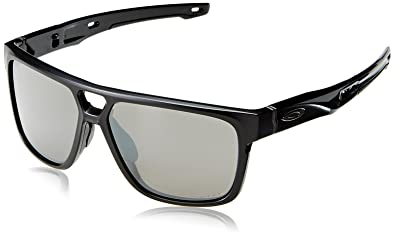 0e409ca3e77634 Oakley Crossrange Patch 938206, Montures de Lunettes Homme, Noir (Negro),  60  Amazon.fr  Vêtements et accessoires