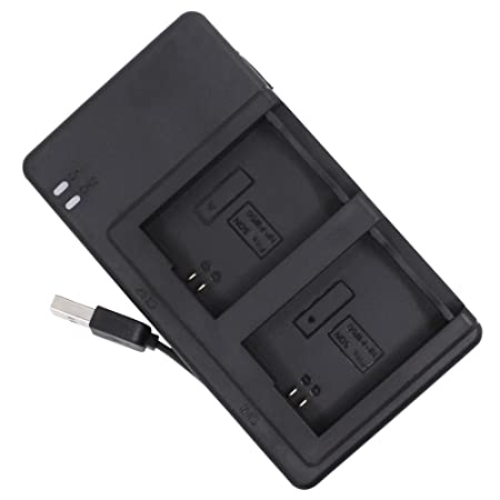 Battery Charger Compatible Sony Np Fw50 With Charging Usb Cable, Afunta Dc Dual Charger Compatible Sony Nex 3 Nex 7 Nex C3 Slt A33 A3500 A5000 A5100 A6000 A7 A7 R A7 S A7 Ii   Black by Afunta
