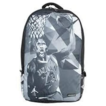 Nike Air Jordan Photo Reels Laptop and Tablet Backpack Bag in Gray and  Black  Amazon.co.uk  Sports   Outdoors a8ca84957