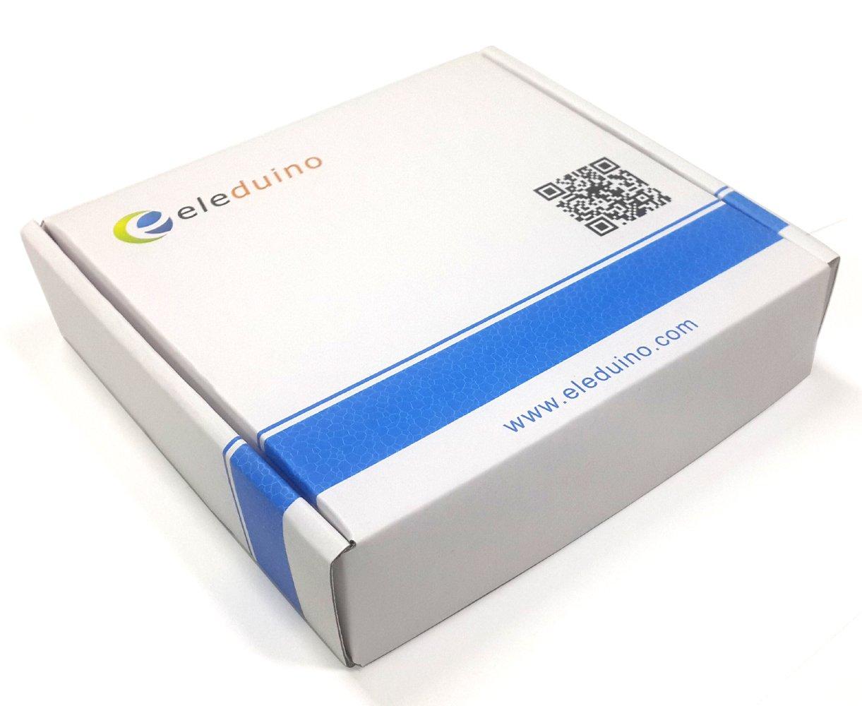 Eleduino Raspberry Pi 3 Aluminum Alloy Metal Case Blue and 5V 2.5A Power Supply Kit by EleDuino (Image #5)