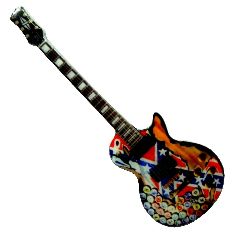 Music Legend Collection Aimant guitare réfrigérateur métal en forme de résinate Eurasia1