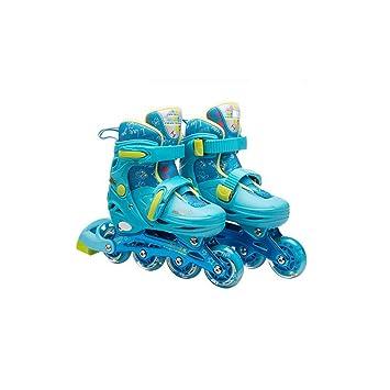 KPPTO Patines en línea, patines para niños al aire libre ...