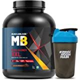 MuscleBlaze Mass Gainer XXL with free Shaker - 3 kg (Chocolate)