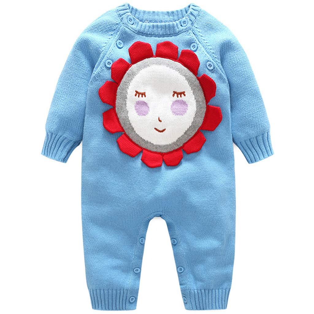 r.b.hickory Baby Rompers Knitted Junpsuit Cotton Onsise Sweaters for 3-18 Months Ltd