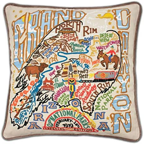 Catstudio Grand Canyon Embroidered Decorative Throw Pillow