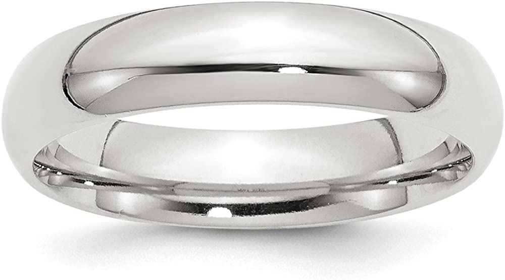Solid 925 Direct store Sterling Silver 5mm Comfort Wedding mart Fit Classic Plain