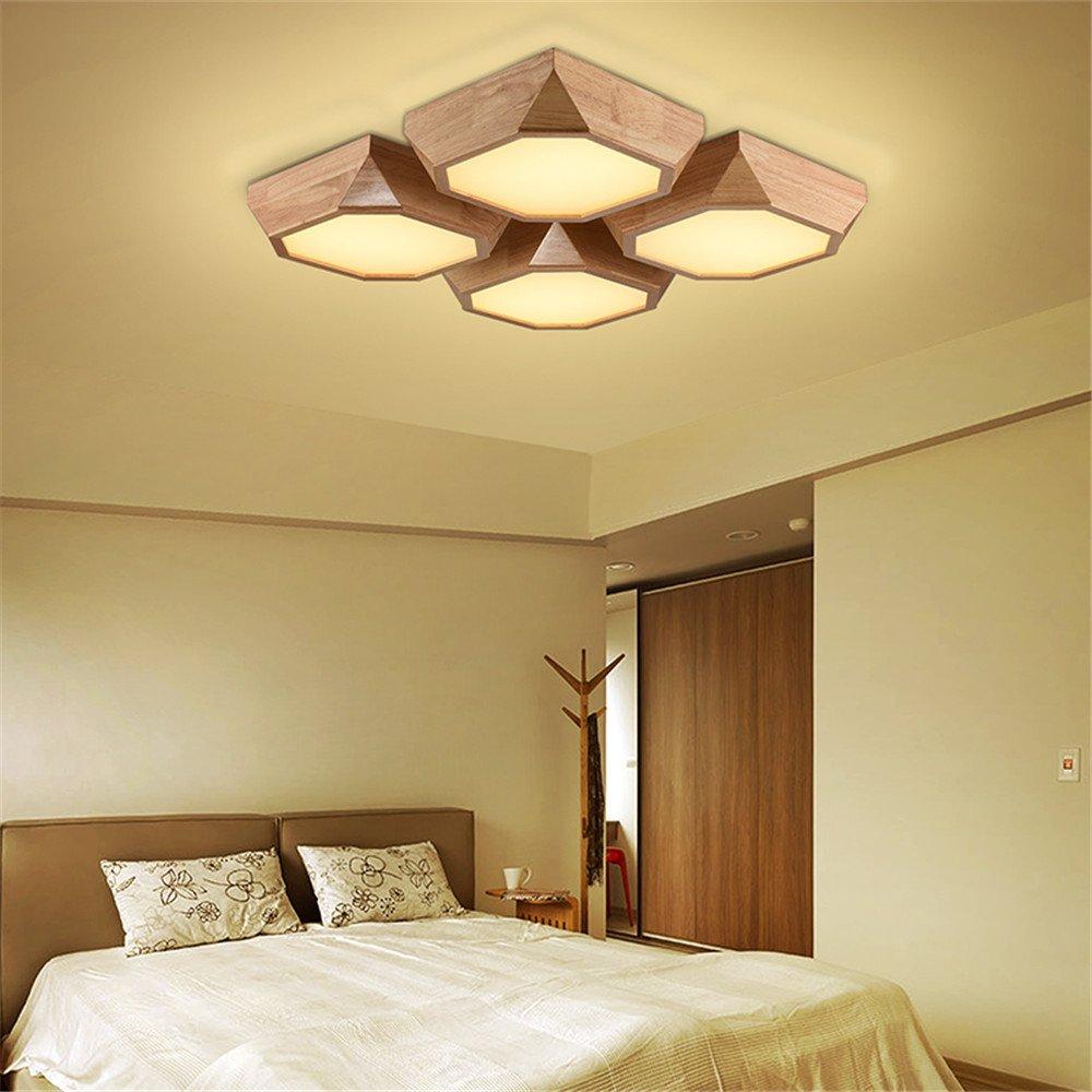 BRIGHTLLT Das Wohnzimmer Deckenlampe quadratisch LED Schlafzimmer ...