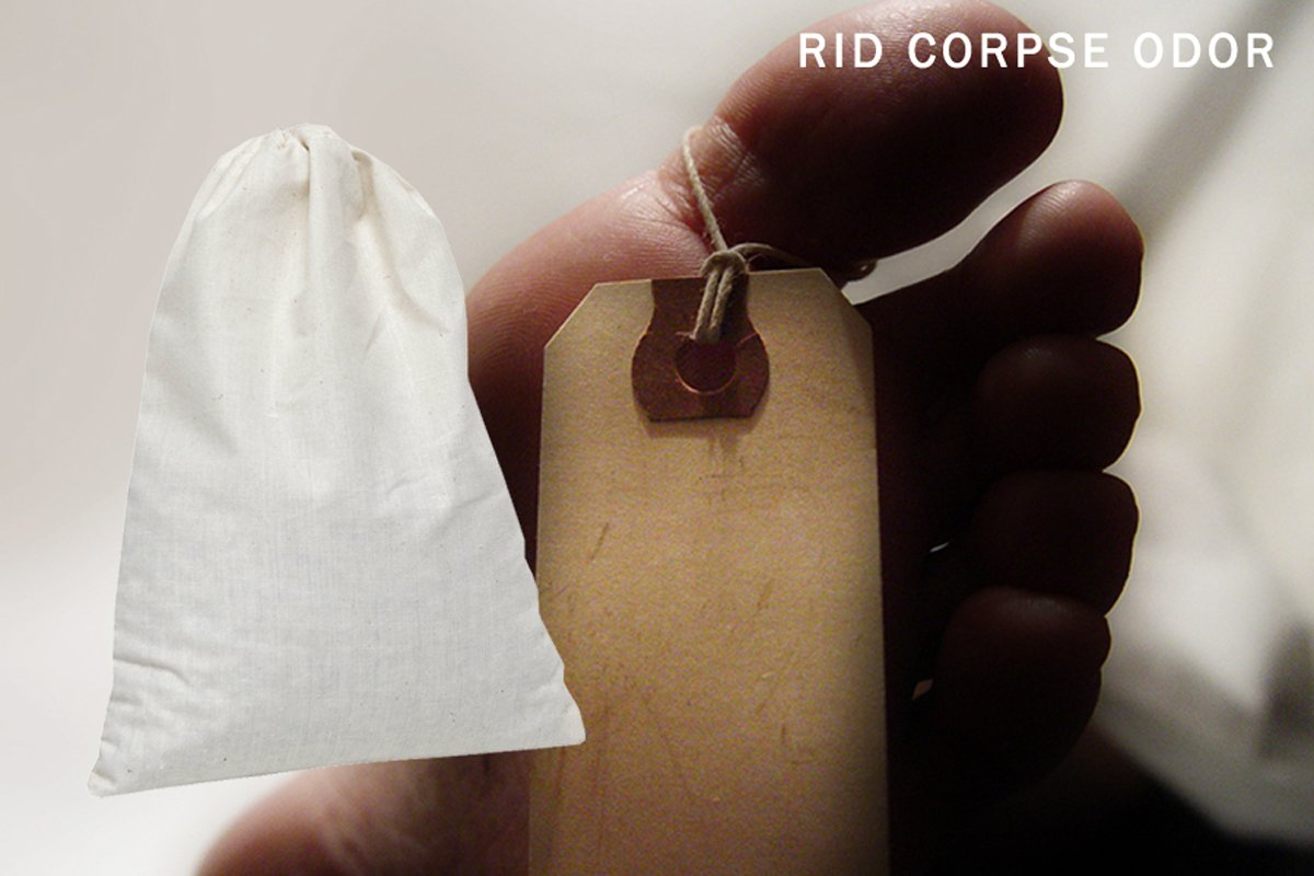 SMELLEZE Reusable Corpse Smell Removal Deodorizer Pouch: Eliminates Death Odor in 300 Sq. Ft. 3
