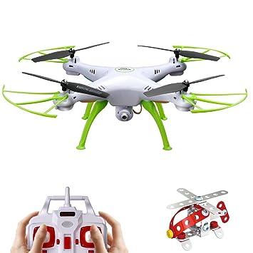 Syma X5P 2,4 Frecuencia 6-Axis Gyro FPV Drone cámara de HD RC ...