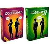 Codenames bundle with Codenames and Codenames Duet by Czech Games (2 items)