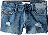 DL1961 Kids Girl's Lucy Cut Off Shorts in Needle (Big Kids) Needle 16