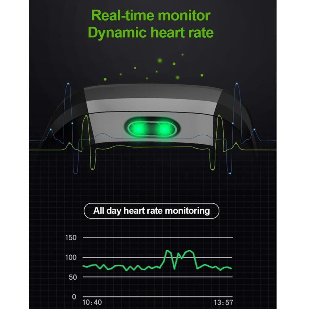 Amazon.com: Teepao - Pulsera inteligente CK 16 con control ...