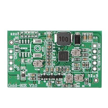 amazon com 92e boost board module lcd screen t con board vgh vgl vcom mst7500a 3 st3151a05 4 xc 1 led lcd