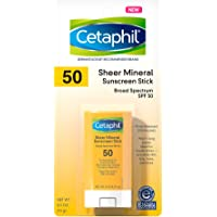 CETAPHIL Sheer Mineral Sunscreen Stick for Face & Body | 0.5oz | 100% Mineral Sunscreen: Zinc Oxide & Titanium Dioxide…