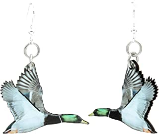 product image for Mallard Duck Earrings