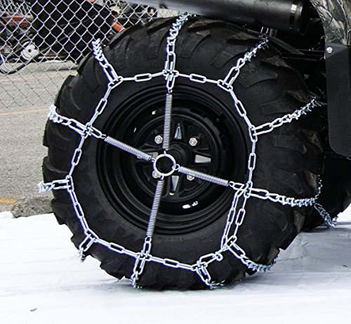 4 Link TIRE CHAINS & TENSIONERS 29x12x15 for Kubota Lawn Mower Garden Tractor by The ROP Shop by The ROP Shop