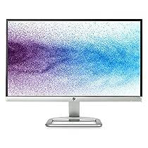 """HP 22es Monitor Full HD da 21.5"""", IPS, Retroilluminazione a LED, Risoluzione 1920x1080, Argento, Retro Nero"""