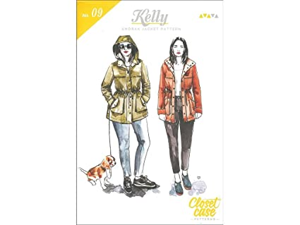 Closet Case Patterns Closet Case Kelly Anorak Jacket Ptrn