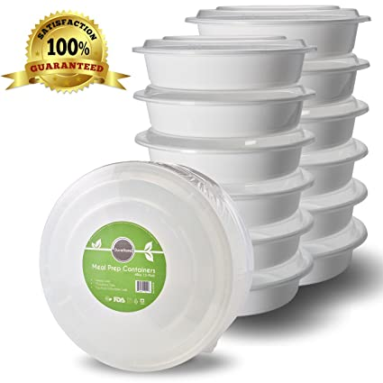 Amazoncom Meal Prep Containers with Lids 10 Pack BPA Free Food