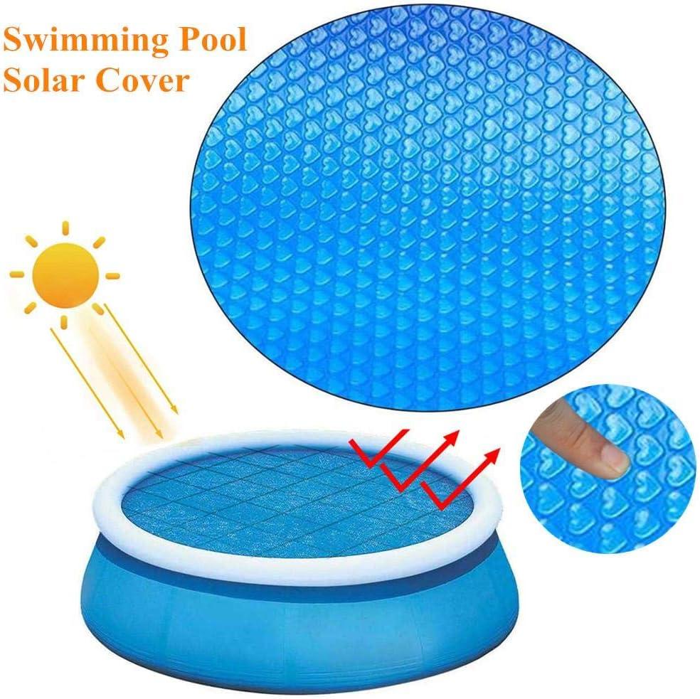 NUEVO Cobertor solar piscina redonda 360cm, Manta Solar Piscina ...