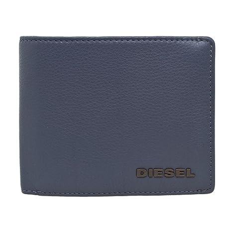 Diesel - Cartera para hombre Gris azul marino: Amazon.es ...