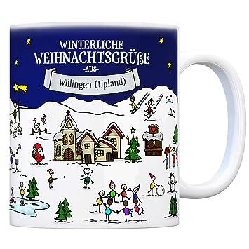Willingen Weihnachtsmarkt.Trendaffe Willingen Upland Weihnachten Kaffeebecher Mit