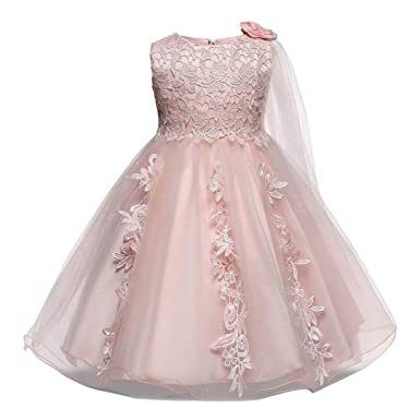 ecd1e23b89 Wanshop® Baby Girls Dresses, Girls Princess Sleeveless Formal Dress Summer  Dress Clothes for Wedding,Party