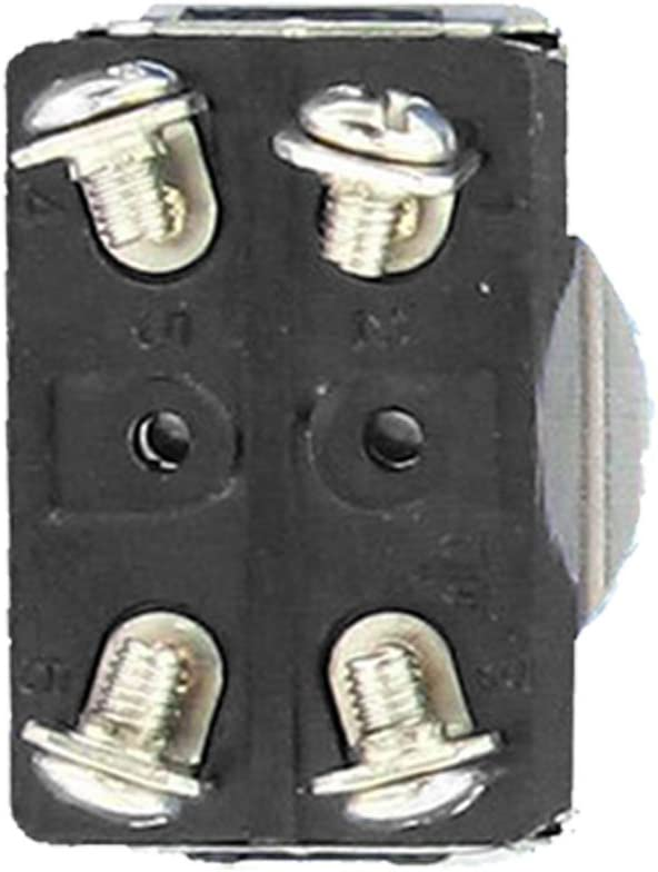Momentary Rocker Toggle Switch Metal Bat Waterproof Boot Cap Cover Black ON ON E Support/™ 3 X Heavy Duty 20A 125V 15A 250V SPST 3 Terminal Pin -OFF-