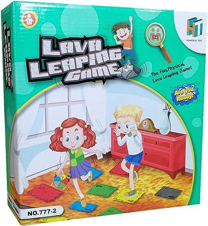 hook.s Lava Leaping Game Innovador Volcán Tarjeta giratoria para niños, Juego de Mesa Familiar, Juego de Mesa para Interiores o Exteriores: Amazon.es: Coche y moto