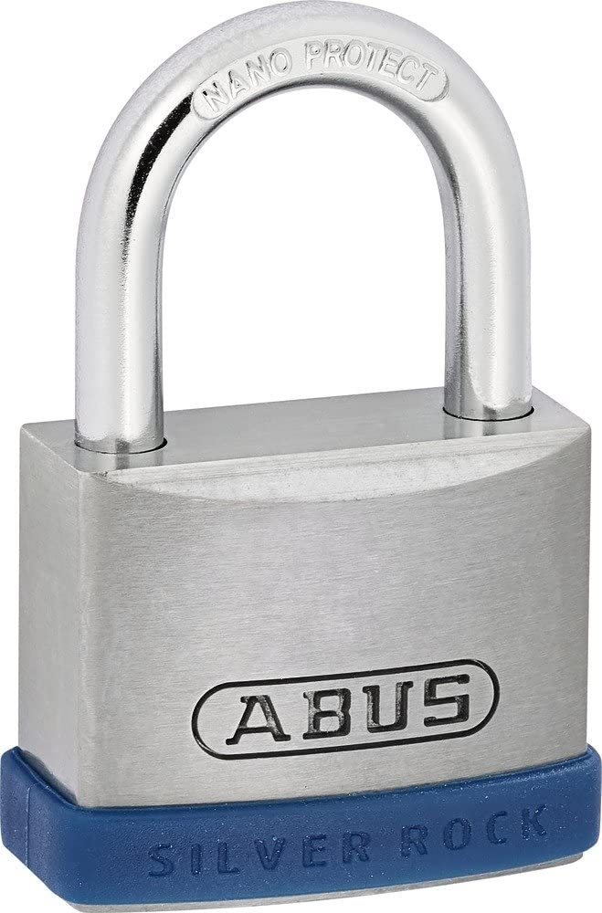 ABUS AB5//40 Silver Rock Padlock Gray